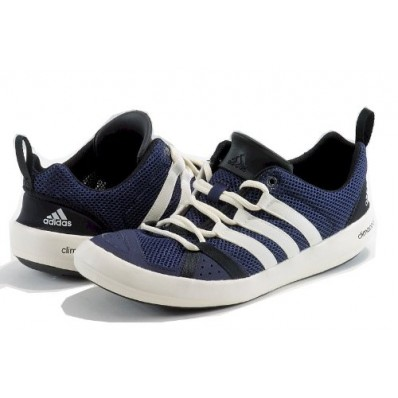 adidas climacool boat lace shoes blue