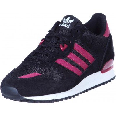adidas zx 700 w chaussures noir rouge rose