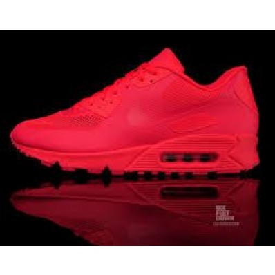 nike air max 90 rouge fluo
