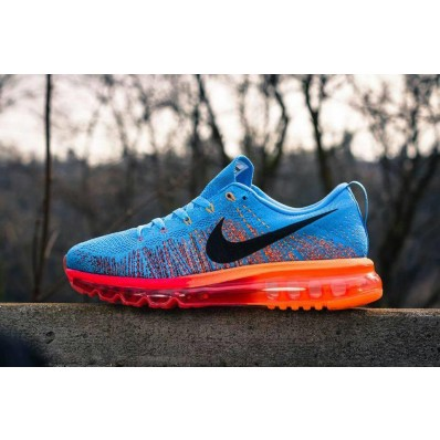 nike air max flyknit 2015 blue