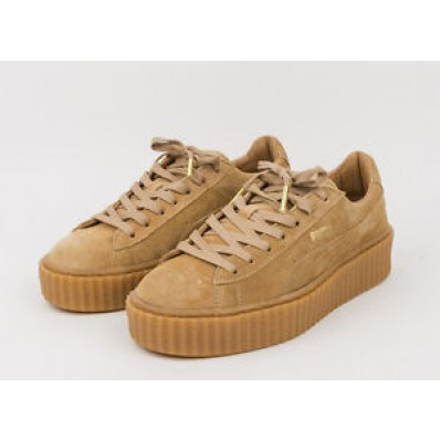 puma by rihanna creeper beige