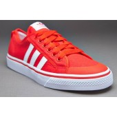 Adidas Nizza chaussures rouge