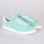 adidas baskets stan smith dames bleu