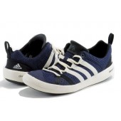 adidas climacool boat lace blue sneakers