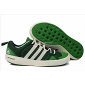 adidas climacool boat lace green sneakers