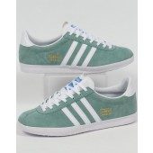 adidas originals gazelle og sneakers green