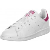 adidas stan smith j w chaussures blanc rose