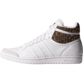 adidas top ten hi sleek weiß leopard