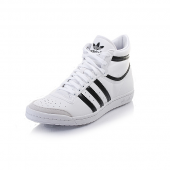 basket adidas top ten hi sleek blanche