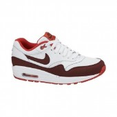 basket nike air max 1 essential rouge blanc