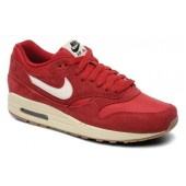 basket nike air max 1 rouge