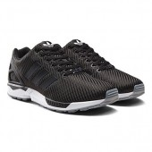 baskets adidas zx flux carbon black black