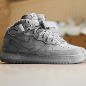 nike air force 1 mid ash grey