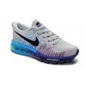 nike air max 2014 flyknit grey black purple blue