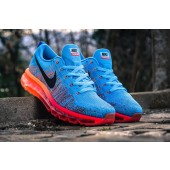 nike air max flyknit 2014 blue