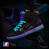 nike dunk sb black grape