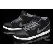 nike dunk sb black mid