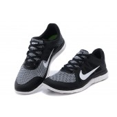 nike free run 4.0 black and black