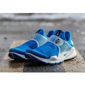 nike x fragment design sock dart photo blue