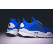 nike x fragment design sock dart sp blue