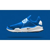 nike x fragment design sock dart sp photo blue