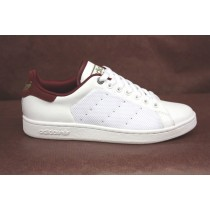 adidas stan smith blanche et bordeaux