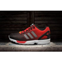 adidas zx flux rouge soldes