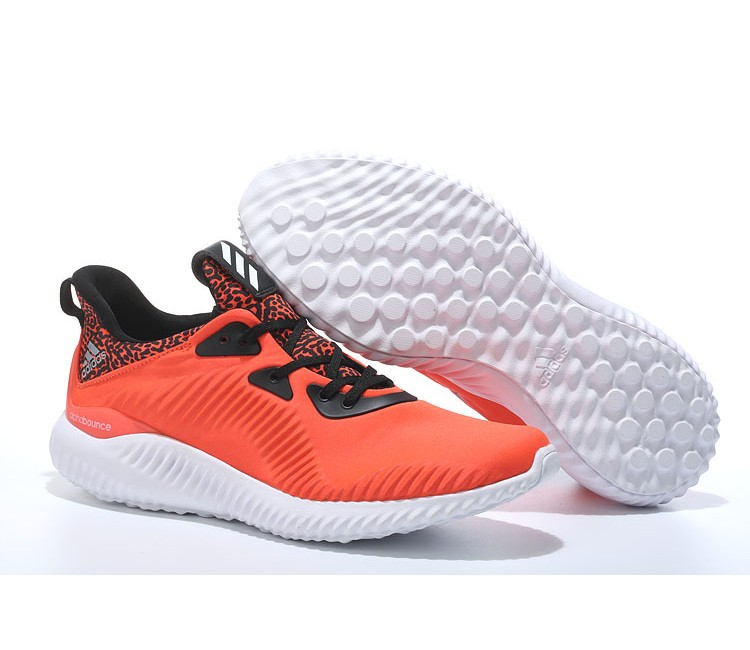 Adidas Alphabounce 330 soldes, Adidas Alphabounce chaussures Homme Orange/Noir