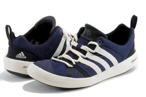 adidas climacool boat lace blue sneakers, Adidas Men's Fashion Sneaker Climacool Boat Lace Shoes (12, Dark Indigo/Chalk/