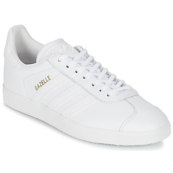 adidas femme blanche, Chaussures Baskets basses adidas Originals GAZELLE Blanc