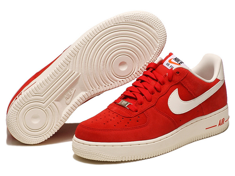 basket nike air force 1 rouge