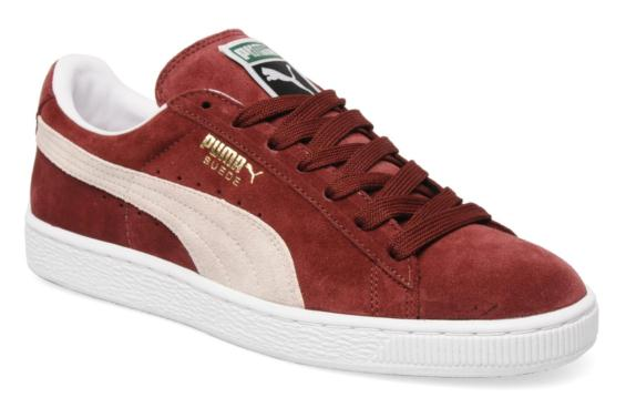 basket puma suede bordeaux,