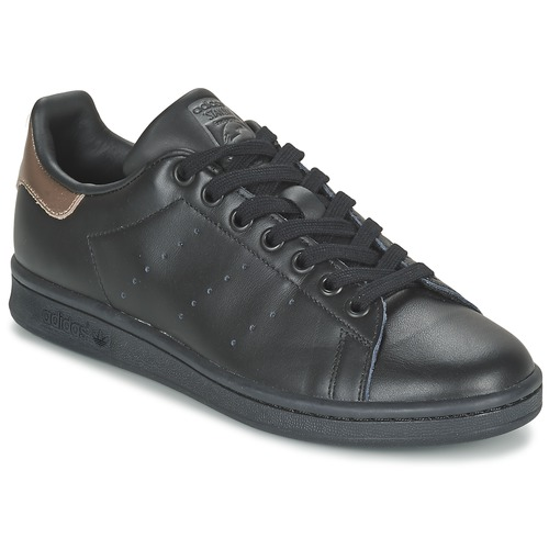 baskets mode adidas originals stan smith w noir, Adidas originals stan smith w noir chaussures baskets mode basses femme