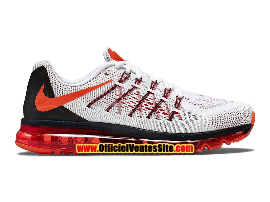 nike air max 2015 chaussure de running pour homme, Nike Air Max 2015 Chaussure de Nike Running Pas Cher Pour Homme Blanc/Rouge/ ...