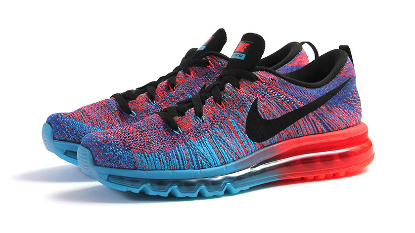 nike air max flyknit 2015 blue lagoon, nike-flyknit-air-max-blue-lagoon-bright-crimson-