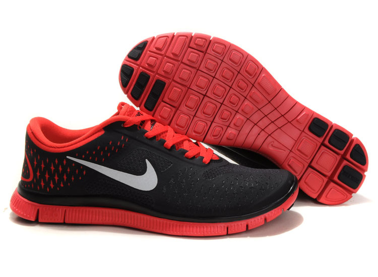 nike free run 4.0 boutique, 2012 Nike Free Run 4.0 Gris Rouge Homme