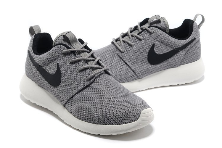 nike roshe run boutique grise, homme nike roshe run yeezy grise noir chaussures de courses